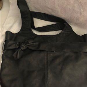 Sopheea Columbus leather purse